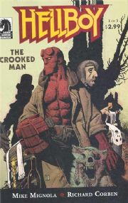 Hellboy The Crooked Man #1 (2008) Mike Mignola Dark Horse comic book